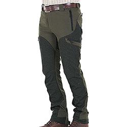 Pantaloni Stretch Hunter Classic Green Protection Black