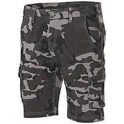 Bermuda uomo Konos Camouflage Grey Elasticizzati