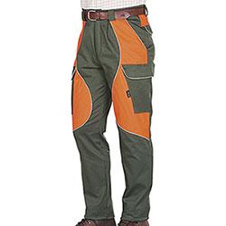Pantaloni Kalibro Cargo Cotton Stretch Green Cordura Orange