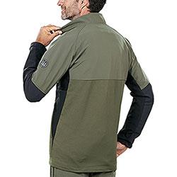 Maglia Beretta Hybrid Softshell-Fleece Green