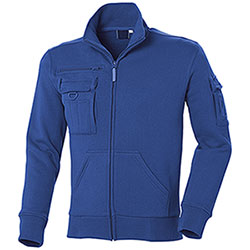 Felpa Full Zip Multiutility Royal