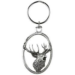 Deer Howling Key-ring