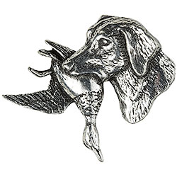 Retrevier Dog Brooch