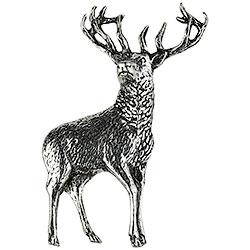 Spilla Cervo in Peltro