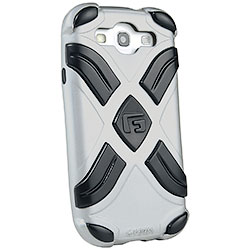 Cover G-FORM Antiurto Extreme Silver per Samsung Galaxy SIII