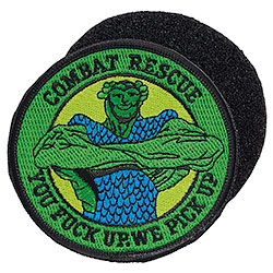 Patch Ricamato Combat Rescue