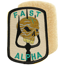 Patch Ricamato Fast Alpha