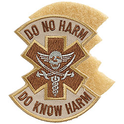 Patch Ricamato Do No Harm