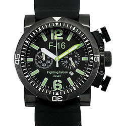 Orologio MEC F16 Fighting Falcon Black