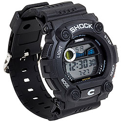 Orologio Military Shock Black