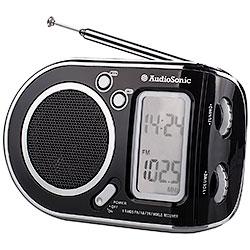Radiosveglia AudioSonic Portatile