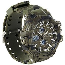 Orologio da polso Dual Time Full Camo Skmei