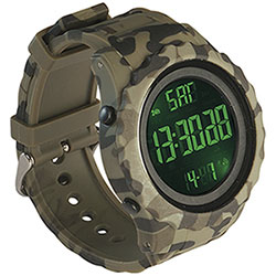 Orologio Camo Green Multi Digitals e Crono