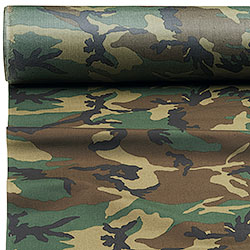 Sheet in Polyamide Camouflage Fabric