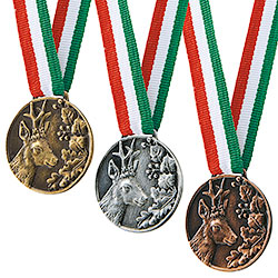 Tris Medaglie Premio Capriolo