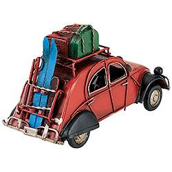 Modellino Auto Rossa con Pacchi