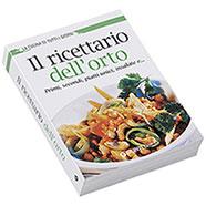 Libro Il Ricettario dell'Orto Giunti Demetra Editore.