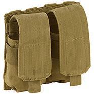 Portacaricatore Doppio M4/M16 Molle System Coyote