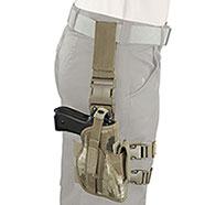 Fondina Pistola Tactical Camo Rock