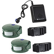 Sensore Wireless Double Hunting Alarm