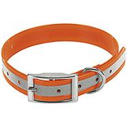 Collare per cani Biothane Biogold Reflex Orange