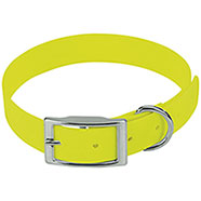 Collare per cani Biothane Beta Yellow
