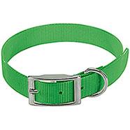 Collare per cani Biothane Biogold Green