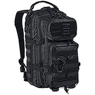 Zaino US Tactical Assault Black Small 20L
