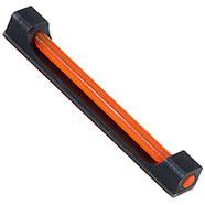 Mirino Alluminio Quadro Red 6x50