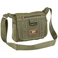 Borsa a Spalla Canvas ST Green