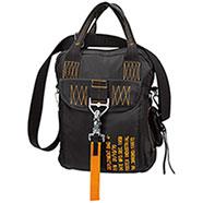 Borsa  Bag Four Black Yellow Deployment