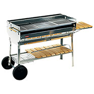 Barbecue a carbonella Ferraboli Planet Inox Aisi 430