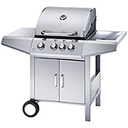 Barbecue a Gas Ferraboli Top Inox