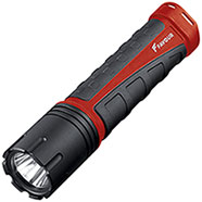 Torcia Favour XM-L Cree LED 480 Lumen GripLite Red