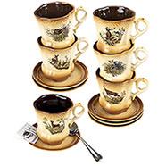 Set Caffè Cearamica Country