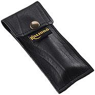 Fodero Coltello Kalibro Medium Black Leather