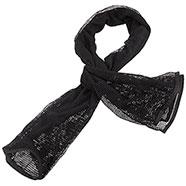 Sciarpa Rete Black