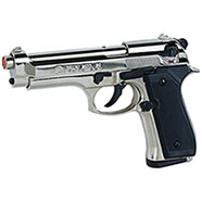 Pistola a Salve Beretta 92 Calibro 9 Nickel Bruni