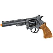 Arma Giocattolo Edison Revolver con Bersaglio e Proiettili