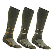 Set 3 Calze uomo Long Hunting Green New