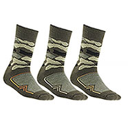 Set 3 Calze uomo Short Camo Green New