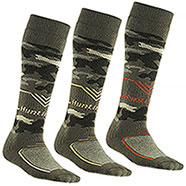 Set 3 Calze uomo Long New Hunting Camo
