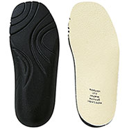 Soletta scarpe Pelle con Rialzo Tecno-Insole High Fit