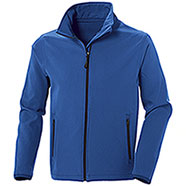 Giacca Softshell Impermeabile uomo 2 Layer Tin Royal