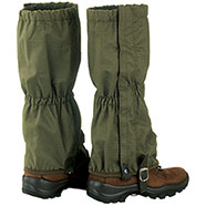 Rip-Stop Green Gaiters