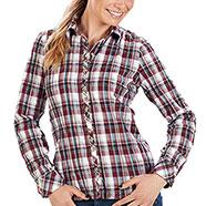 Camicia Telfs Bordeaux Lady