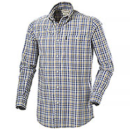 Camicia Beretta Tom Blu Check