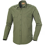 Camicia caccia NA43 Fashion Two Pockets Green
