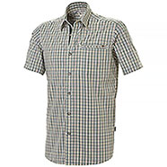 Camicia uomo Beretta Trail Button Down Green Check M/C