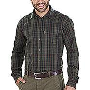Camicia flanella uomo Seeland Pilton Faun Brown Check